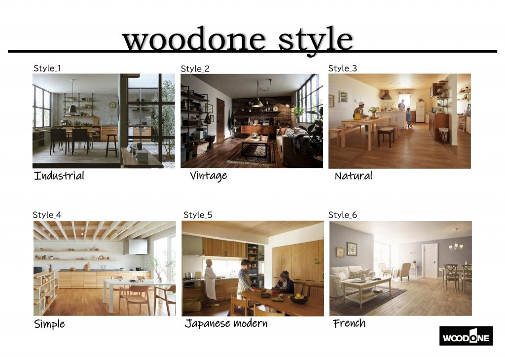 Interior  Style(WOODONE)