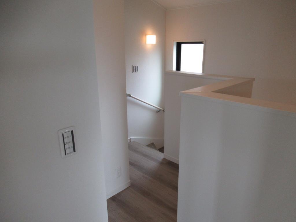 内観(階段ホール)
